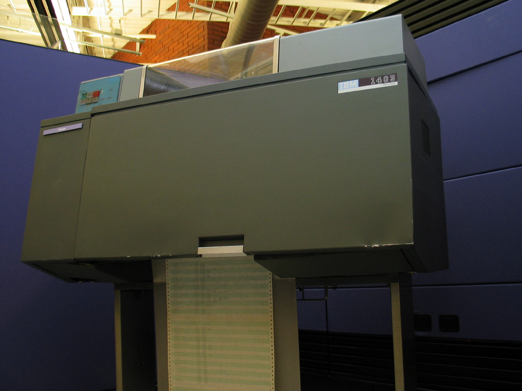 Remembering the IBM 1403: Hammer Time