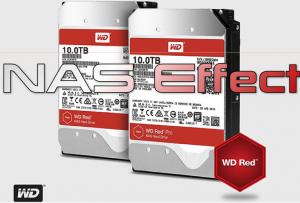 NAS Effect: 10TB Western Digital Red Drives