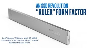 Intel's new 'Ruler' SSD pushes for petabyte capacity