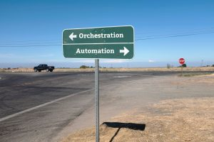 Orchestration From the Top Versus Automation From the Bottom